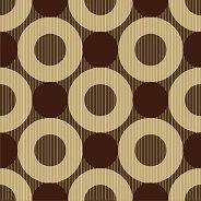 Салфетки - Кафяви кръгове - Пакет от 20 броя