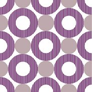 Салфетки - Лилави кръгове - Пакет от 20 броя