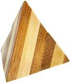 Pyramid - 3D пъзел от бамбук -