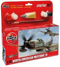 Военен самолет - North American F-51 Mustang -