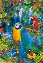 Папагали в Тропика - пъзел