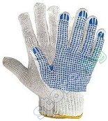 Градинарски ръкавици с PVC пъпки - Комплект от 12 чифта