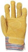 Работни ръкавици от телешки велур