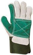 Усилени работни ръкавици от телешки велур