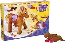 Създай сама - Плюшени кончета - Творчески комплект - играчка