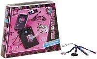 """Декорирай сама - Аксесоари за мобилен телефон - Творчески комплект от серията """"Monster High"""" - играчка"""
