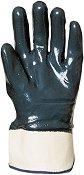 Работни ръкавици с двойно нитрилно покритие - Размер 10 (25 cm)