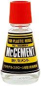 Лепило за пластмасови модели и макети - Mr. Cement - макет