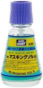 Маскиращ разтвор за модели и макети - Mr. Masking Sol R - Шишенце с четка от 20 ml - продукт