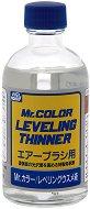 Разредител за акрилни бои на ацетонова основа - Mr. Color Leveling Thinner - макет