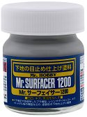 Кит за пластмасови модели и макети - Mr. Surfacer - Бурканче от 40 ml - макет