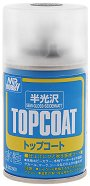 Акрилен лак на водна основа - Mr. Top Coat - Флакон от 88 ml -