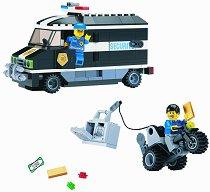 """Полицейски камион - Конструктор от серията """"Police"""" - играчка"""