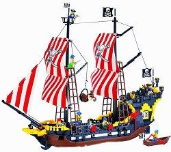 """Пиратски кораб - Black Pearl - Конструктор от серията """"Pirates"""" -"""