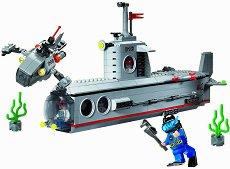 """Подводница - Конструктор от серията """"Combat Zone"""" - играчка"""