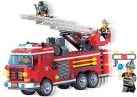 """Пожарна с подвижна стълба - Конструктор от серията """"Fire Rescue"""" -"""