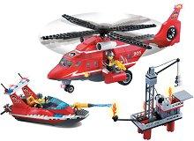 """Морски спасителен екип - Конструктор от серията """"Fire Rescue"""" -"""
