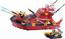 """Противопожарен катер - Конструктор от серията """"Fire Rescue"""" -"""