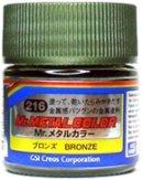 Акрилна боя на ацетонова основа - Mr. Metal Color: Метални цветове - продукт