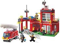 """Пожарна станция - Конструктор от серията """"Fire Rescue"""" -"""
