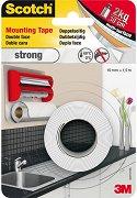 Двойнозалепваща монтажна лента - Strong - За вътрешна употреба