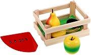 На пазар за плодове - Дървена играчка -