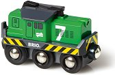 Детски товарен локомотив - играчка