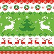 Салфетки - Коледа - Пакет от 20 броя