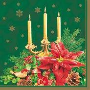 Салфетки - Коледна украса - Пакет от 20 броя