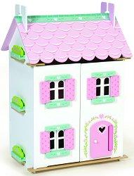 Къща за кукли - Sweetheart - Детска дървена играчка с обзавеждане - детски аксесоар