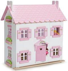 Домът на Софи - Детска дървена къща за кукли -