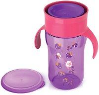Преходна чаша с дръжки - 340 ml - За бебета над 18 месеца -
