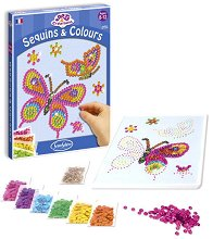 Декорирай сама с пайети - Пеперуда - играчка