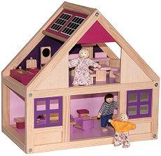 Дървена къща за кукли - Тренди - играчка