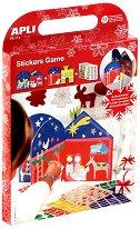 Декорирай сам със стикери - Сцена от Рождество Христово - Творчески комплект с 960 стикера -