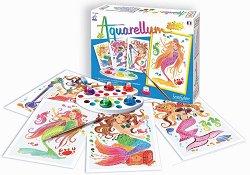 Оцветявай с акварелни бои - Русалки - детски аксесоар