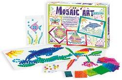 Мозайка за декорация - Кристали - Творчески комплект - творчески комплект
