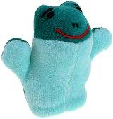 Кукла за пръстче - Жаба - Плюшена играчка за куклен театър - играчка