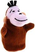 Кукла за пръстче - Маймуна - Плюшена играчка за куклен театър - играчка