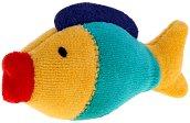 Кукла за пръстче - Риба - Плюшена играчка за куклен театър - играчка