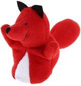 Кукла за пръстче - Лисица - Плюшена играчка за куклен театър - играчка