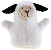 Кукла за пръстче - Овчица - Плюшена играчка за куклен театър - играчка