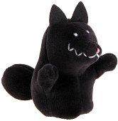 Кукла за пръстче - Вълк - Плюшена играчка за куклен театър - играчка