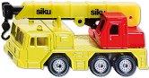 """Хидравличен камион с кран - Метална играчка от серията """"Super: Cranes"""" -"""