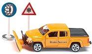 Пикап за пътна помощ - Volkswagen Amarok - Метална количка с аксесоари - играчка