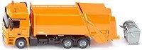 """Камион за събиране на отпадъци - Mercedes-Actros - Метална играчка от серията """"Super: Local community services"""" - играчка"""