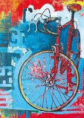 """Red Limited - Колекция """"Bike Art"""" - пъзел"""