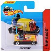 """Метална количка - Bump Around - Играчка от серията """"Hot Wheels - Race"""" - играчка"""