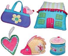 Първи стъпки в шиенето - Творчески комплект в куфарче - играчка