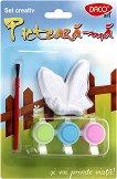 Декорирай сам магнит - Пеперуда - Творчески комплект - играчка